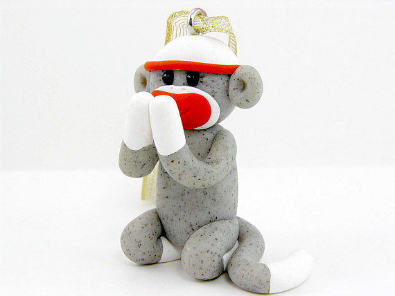 sock monkey praying