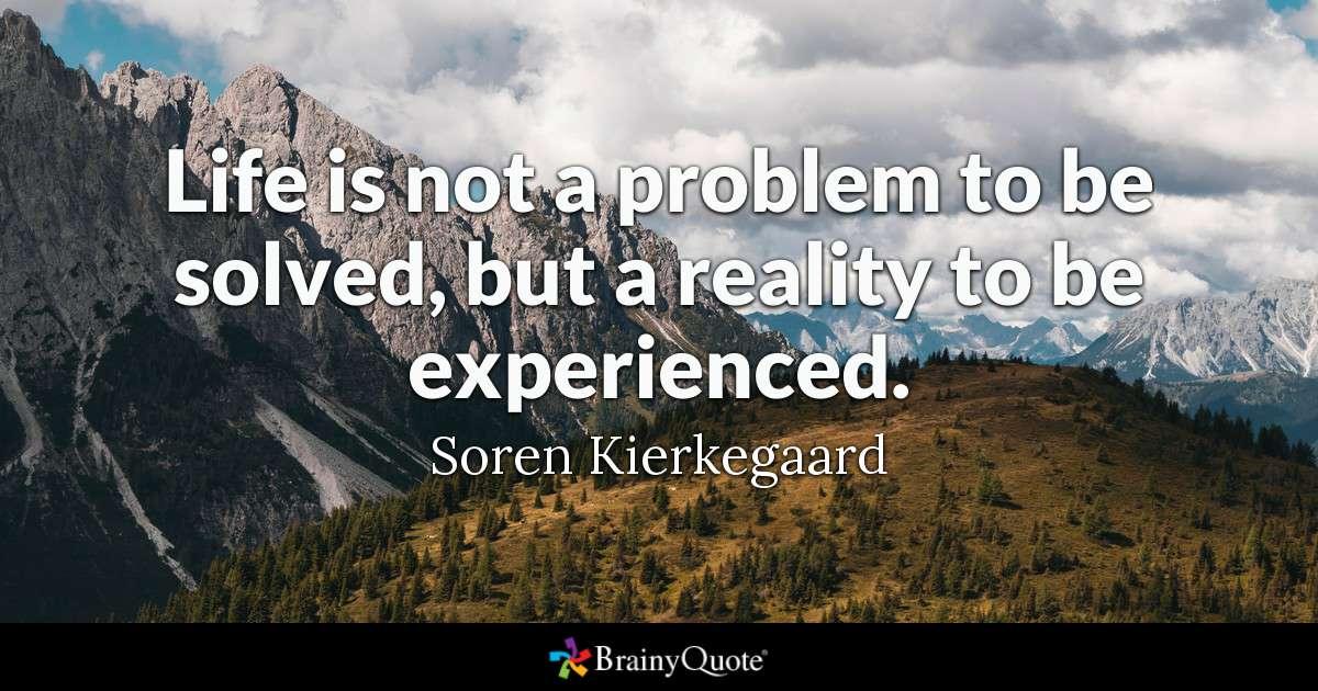 Kierkegaard on life