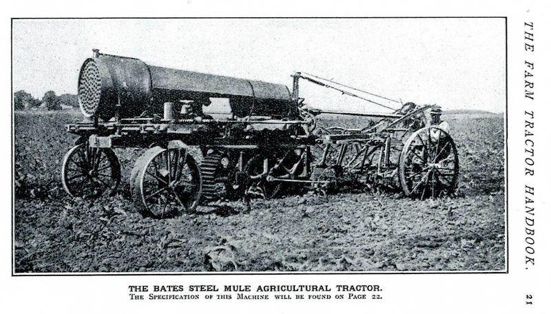 Steel Mule tractor