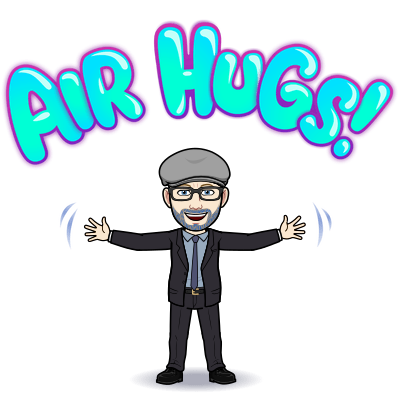 Bitmoji Air Hugs