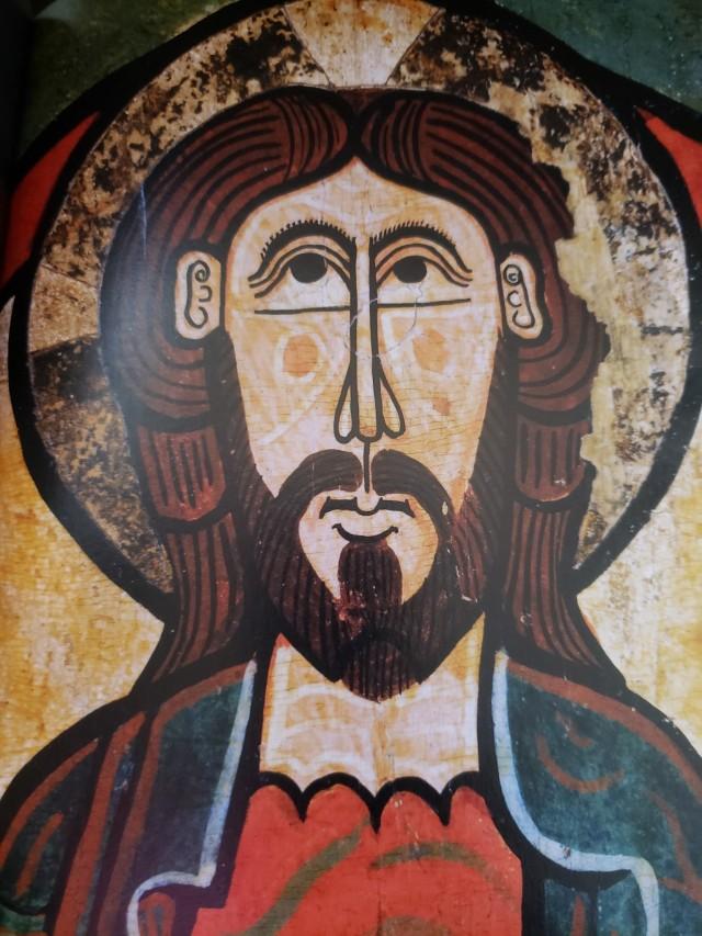 Jesus, 12th century Romanesque
