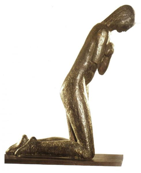 The Prayer by Constantin Brancusi 1907