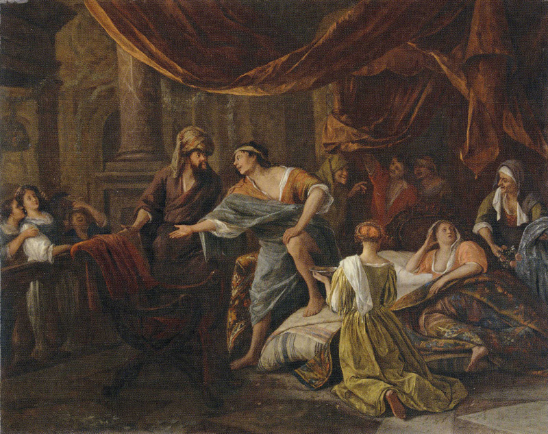 Jacob Confront Laban by Jan Steen, 1669