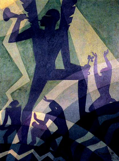 Judgment Day by Aaron Douglas 1939