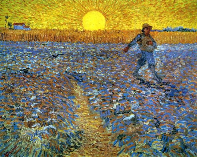The Sower by Van Gogh 1881