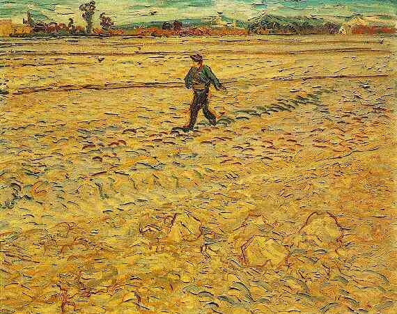 The Sower by Van Gogh 1888