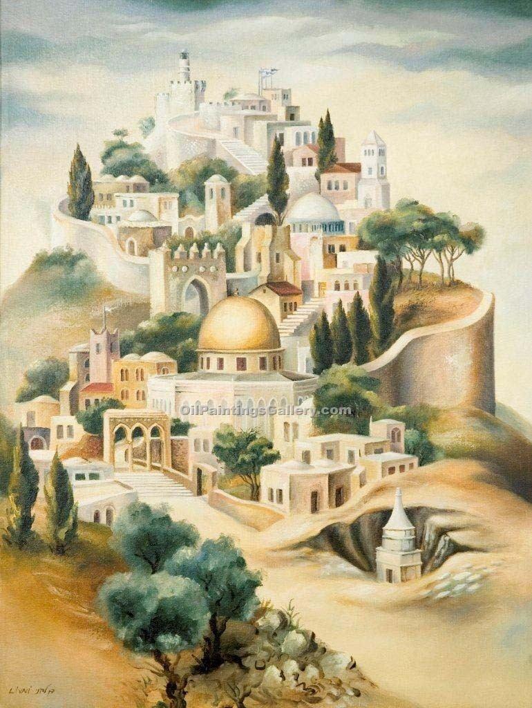 Ascend to Jerusalem by Dan Livni