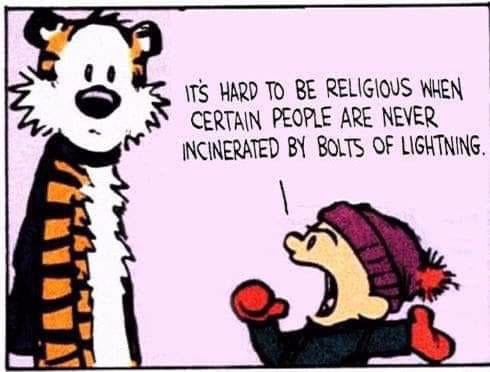 Calvin and Hobbes - imprecation