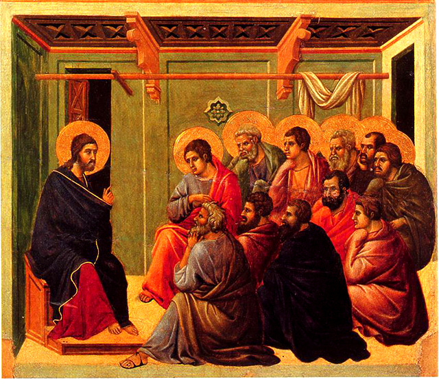 Christ teaching the disciples