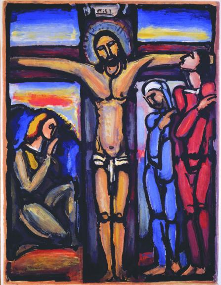 Crucifixion of Christ by Georges Rouault, 1936