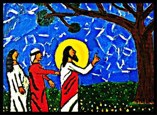 Jesus Cursing the Fig Tree