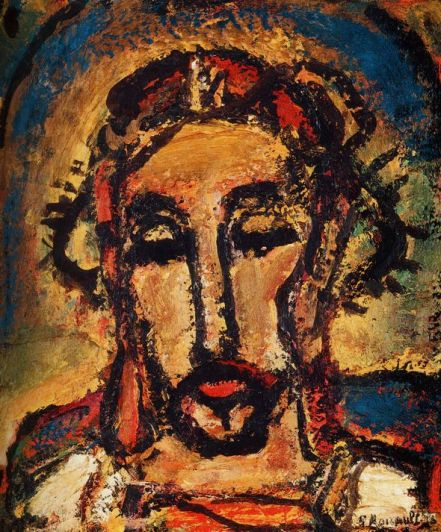 Man of Suffering by Georges Rouault, 1942