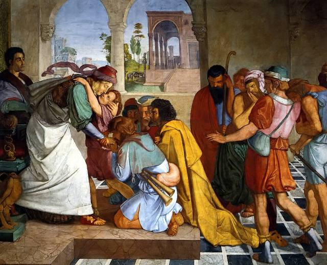 The Reconciliation of Joseph and his Brothers, Peter Cornelius 1
